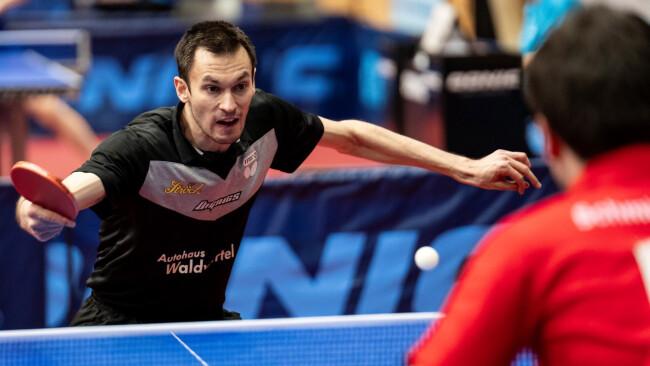 Stefan Fegerl Symbolbild Tischtennis