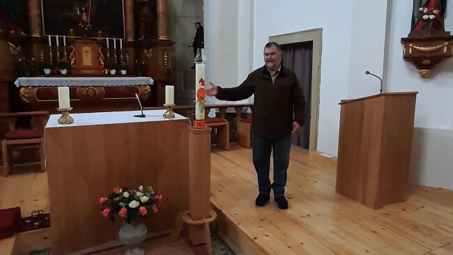 Koordinator und Mesner Alois Rasch