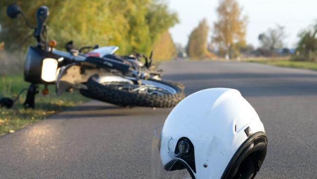 Symbolbild Motorradunfall