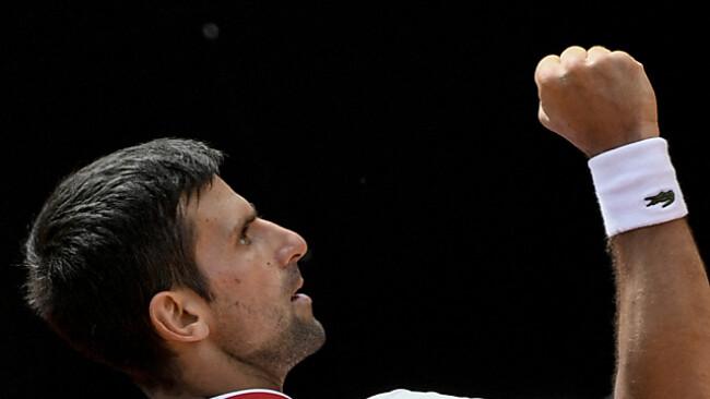 Novak Djokovic drehte die Viertelfinalpartie gegen Stefanos Tsitsipas.