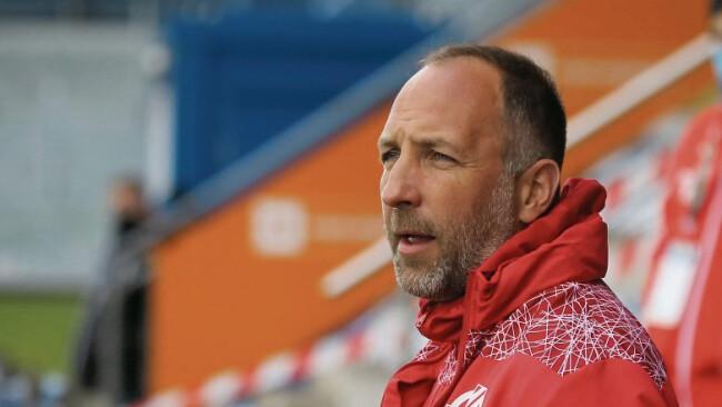 Horn-Coach Alexander Schriebl soll nach dem letzten Spiel abgelöst werden.