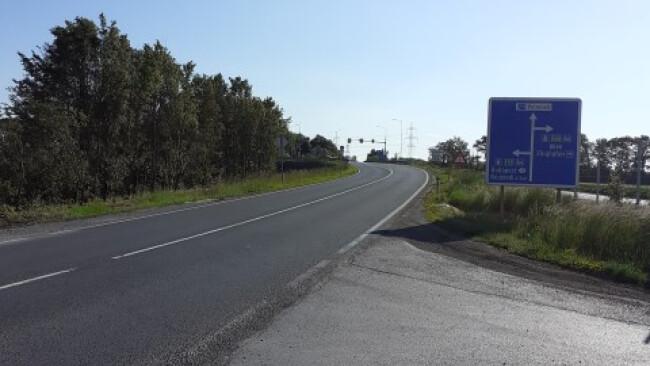 BRUCK - Sanierung  - Baustelle bei Auffahrt zur A4 ab Mitte Juni