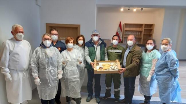 Coronavirus - Testen auch in Sarasdorf möglich
