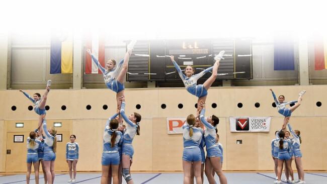 Cheerleader räumen ab