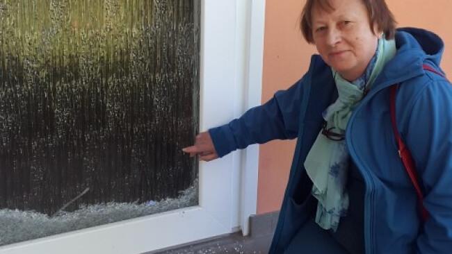 Vandalismus im Kinderfreundehaus