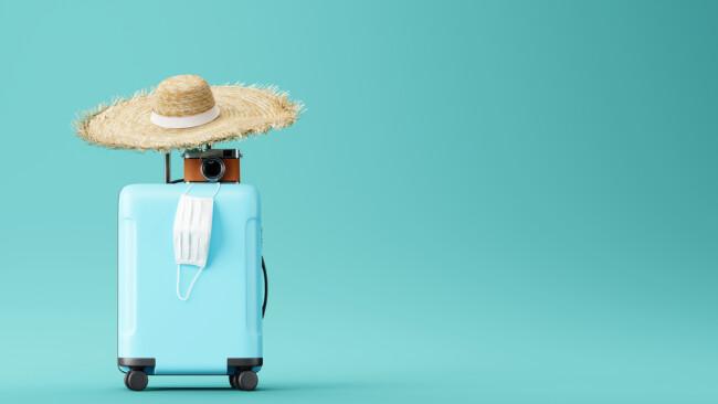 Reisen Urlaub Symbolbild