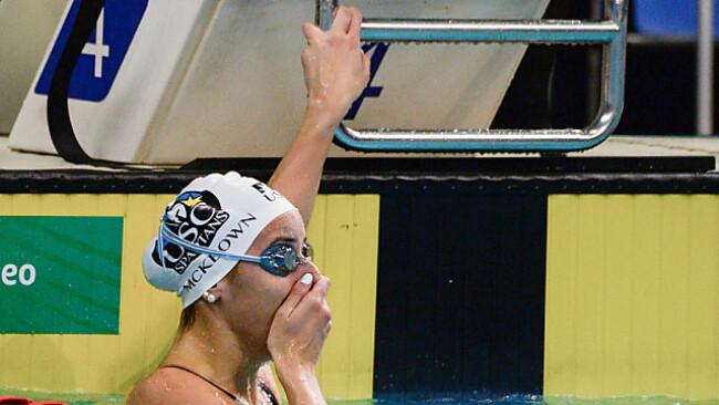 McKeown darf sich Weltrekordlerin über 100 m Rücken nennen