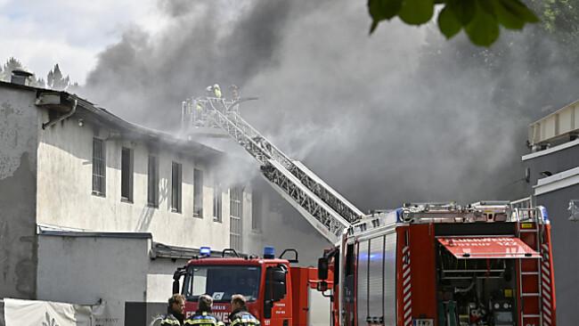 Großeinsatz der Wiener Feuerwehr im Prater