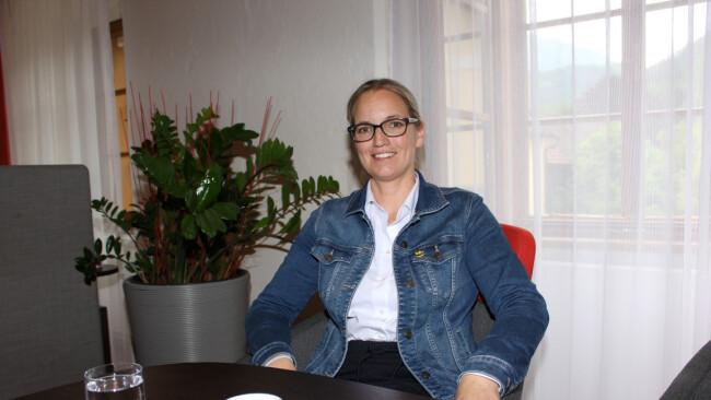 Bürgermeisterin Manuela Zebenholzer