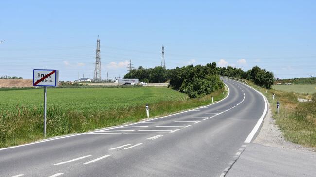 Autobahn-Brücke Richtung Höflein