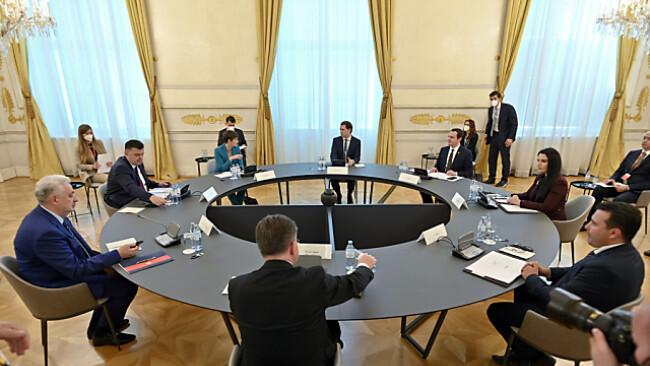 Hochrangiges Treffen im Bundeskanzleramt