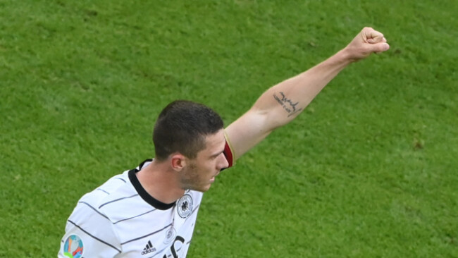 Starkes Spiel und Tor: Deutschlands Robin Gosens traf gegen Portugal