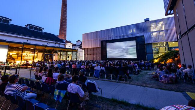 Open Air Kino vorm Kesselhaus