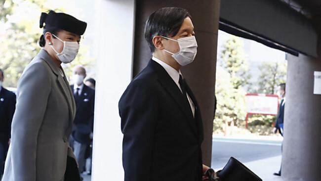 Kaiser Naruhito blickt sorgenvoll auf die Olympischen Spiele