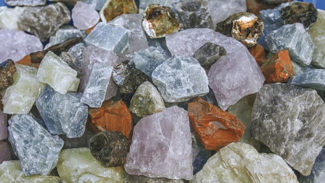 Kristall Symbolbild