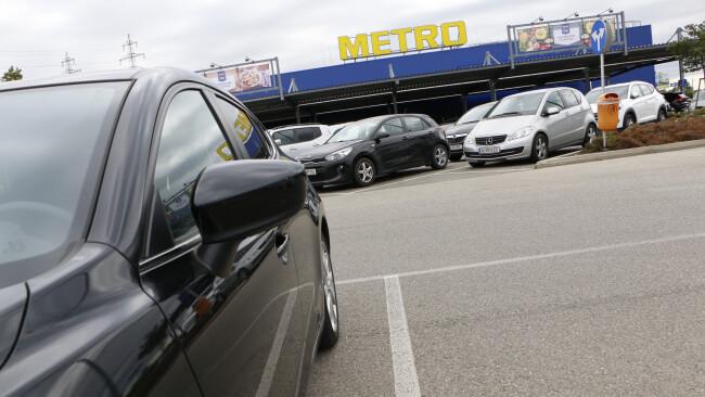 Simmeringer Metro-Parkplatz