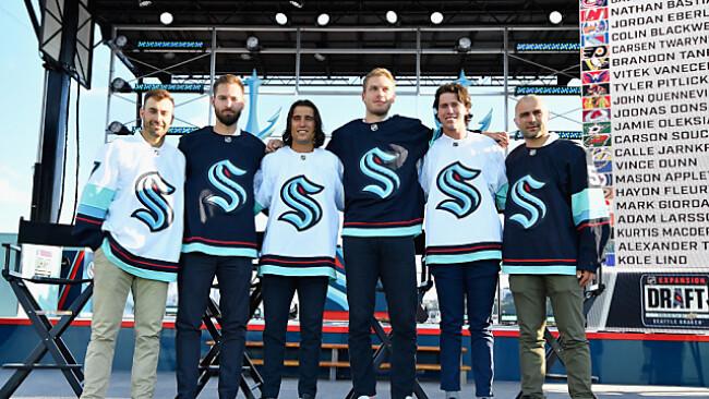 Die Stars des neuen NHL-Clubs Seattle Kraken