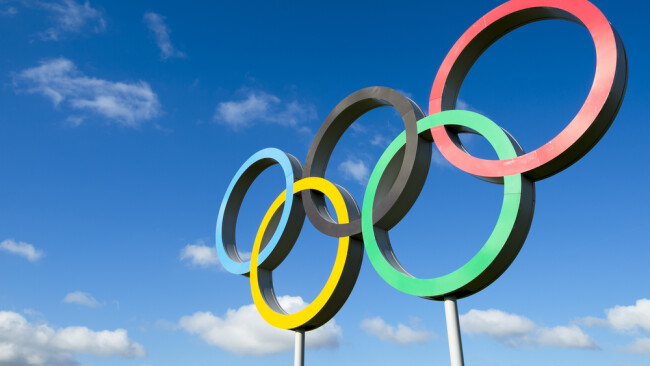 Olympische Ringe Symbolbild