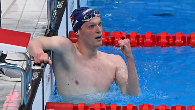 Felix Auböck jubelt über einen starken 1.500-m-Lauf