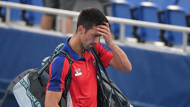 Anstrengendes Olympia-Turnier ohne Happy End für Djokovic