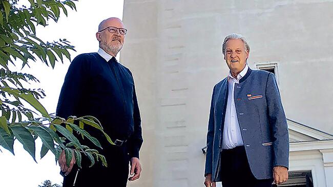 Eduard Schipfer und Alfred Babinsky sind in Hollabrunn gefordert.