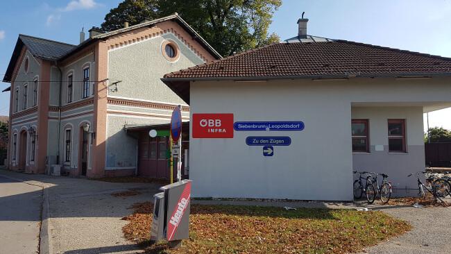Bahnhof Siebenbrunn/Leopoldsdorf