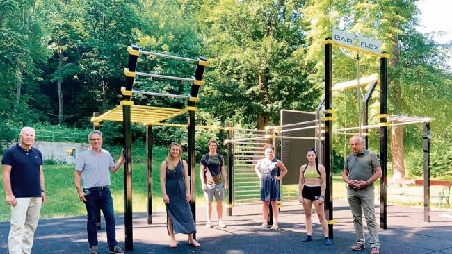 """Fitnessanlage - """"Powerplatzl"""" in Lunz am See in Planung"""