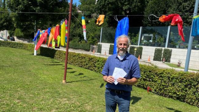 Lebenshilfe-Projekt - Kunst in Grein: Rundgang voller Überraschungen