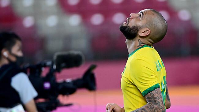 Routinier Dani Alves jubelt über den Semifinaleinzug