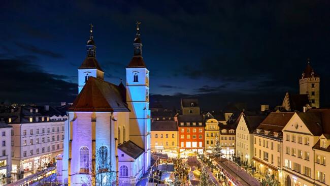 Regensburg Weihnachtsmarkt