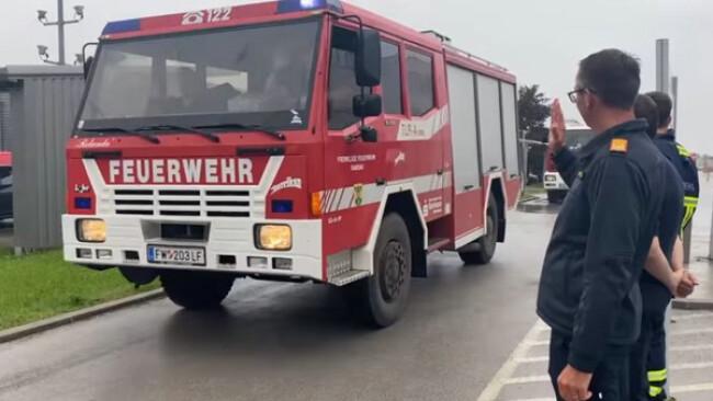 Waldbrände - Feuerwehren aus NÖ helfen in Nordmazedonien
