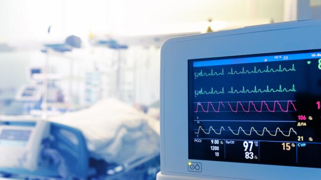 Intensivstation Krankenhaus Spital Symbolbild