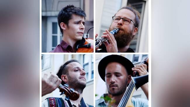 Die vier Musiker: