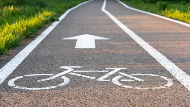 Radweg Symbolbild