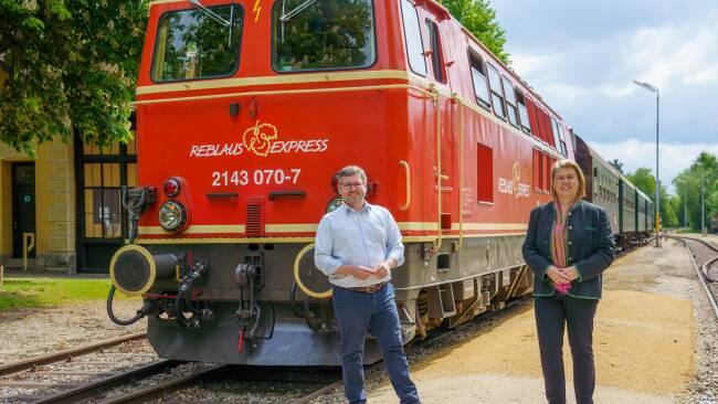 Waldviertelbahn & Reblaus Express starten in den Herbst