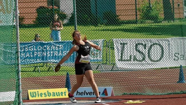 Leichtathletik - St. Pöltner Union-Talent: Alles in Butter mit Diskus
