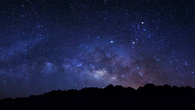 Sternenhimmel Sterne Astronomie Symbolbild