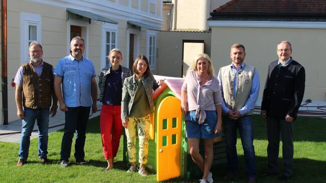 Kindergarten startet Betrieb im Pfarrhof