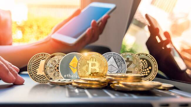 Bitcoin Bitcoins Kryptowährung Symbolbild
