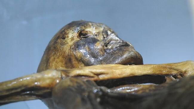 """""""Ötzi"""" wurde vor 30 Jahren entdeckt."""