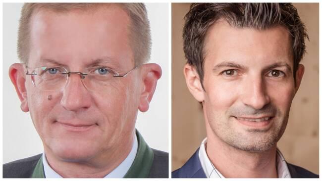 Dieter Dorner und René Lobner