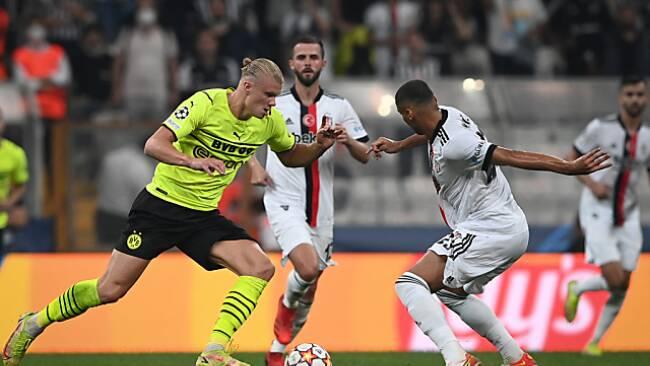 Haaland traf bei Dortmunds CL-Sieg