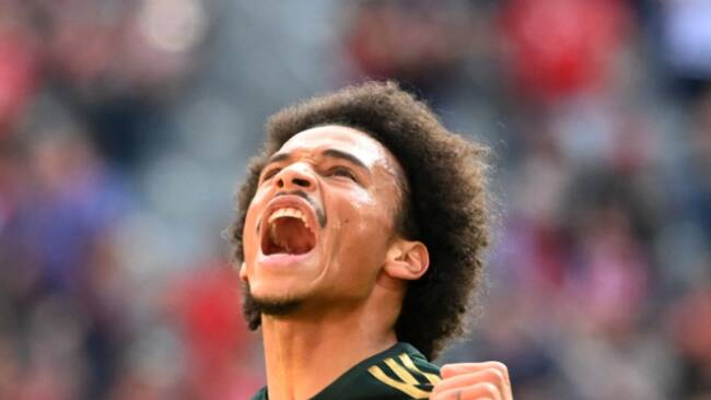 Sane brachte die Bayern gegen Bochum in Führung