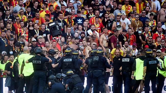 Ausschreitungen bei Lens gegen Lille