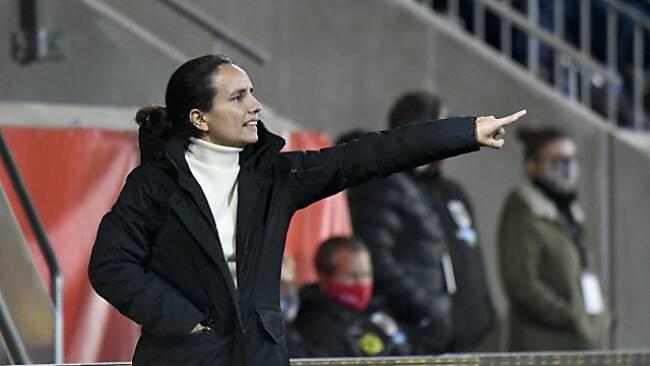 ÖFB-Teamchefin Irene Fuhrmann will den 2. WM-Qualisieg holen/Archiv