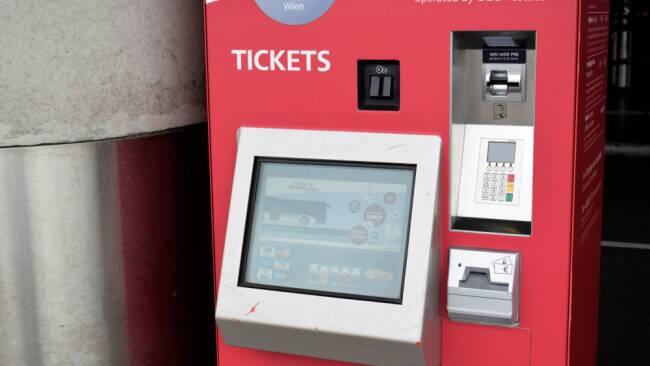 ÖBB VOR Ticketautomat Symbolbild