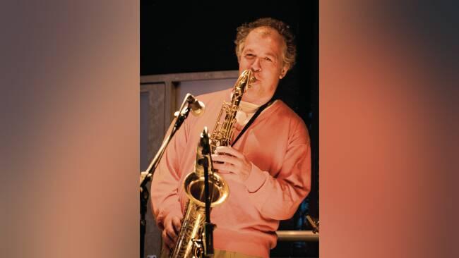Saxofonist Gerhard Graf