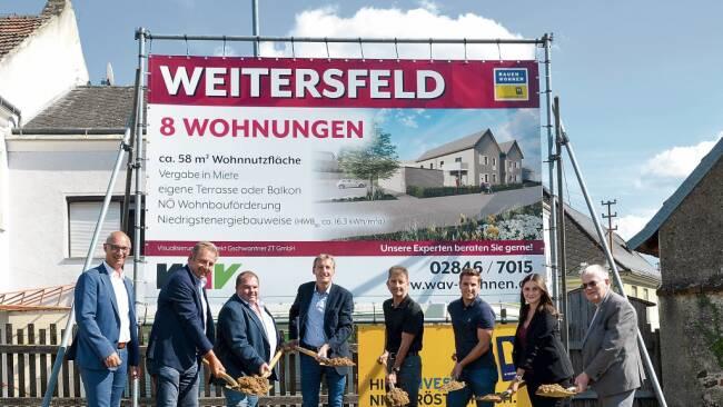 Weitersfeld - WAV baut acht Wohnungen