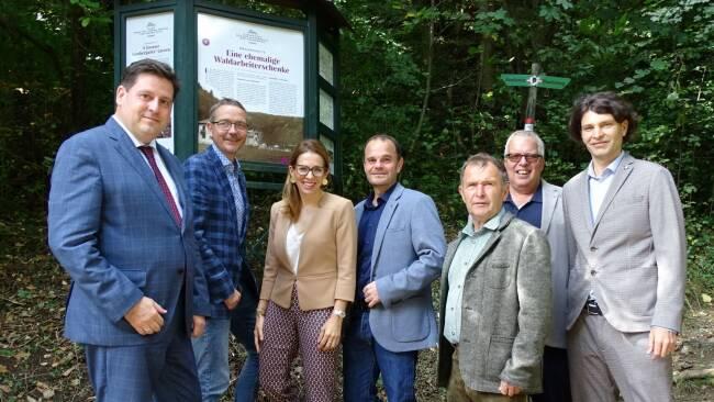 Eröffnung Wanderweg Helenental