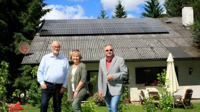 Waldhausen: Autark dank Sonnenkraft
